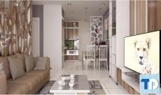 Mẫu thiết kế nội thất chung cư hapulico độc đáo, hiện đại, cá tính