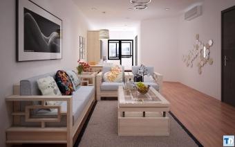 Nội thất đẹp nhà chung cư hiện đại, tiện nghi