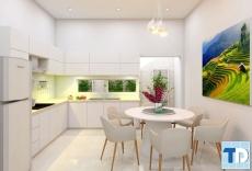 Mẫu thiết kế nội thất chung cư hòa bình green city