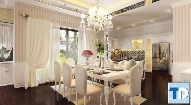 Thiết kế phòng ăn thứ hai