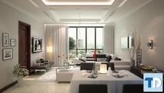 Không gian hiện đại trong thiết kế nội thất chung cư hh4 Linh Đàm