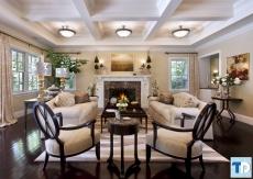 Phong cách tân cổ điển trong nội thất sang trọng mẫu nhà quý tộc