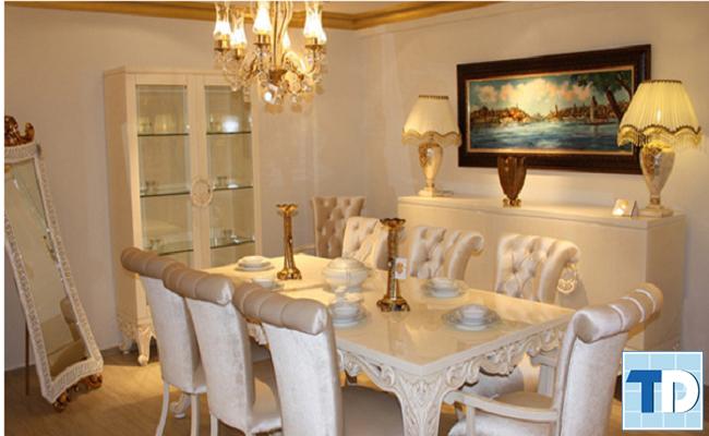 Phòng ăn tân cổ điển