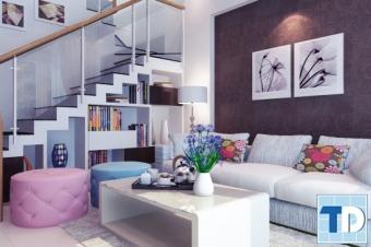 Nội thất nhà đẹp diện tích nhỏ sang trọng công năng sử dụng tối ưu