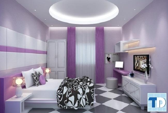 Phòng ngủ con trai lớn