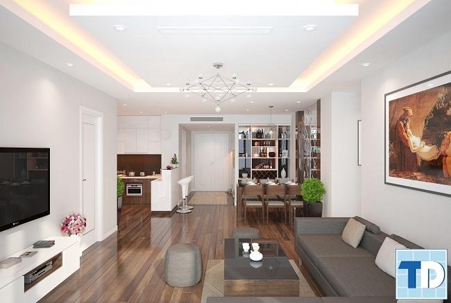 Hình ảnh tổng quan căn hộ