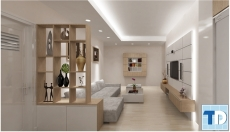 Mẫu thiết kế nội thất chung cư Nam Đô đẳng cấp, tiện nghi