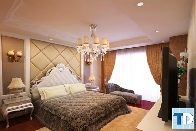 Phòng ngủ con trai tân cổ điển lịch lãm