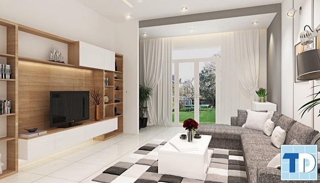 Nội thất nhà đẹp phong cách hiện đại