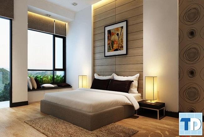 Phòng ngủ đơn giản, cá tính