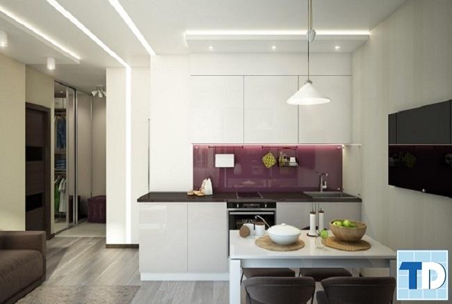 Nội thất bếp hiện đại, tiện nghi