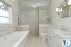 Các mẫu thiết kế nội thất nhà tắm đẹp hiện đại tiện nghi