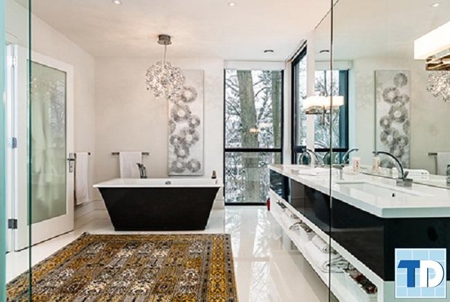 Phòng tắm phong cách đương đại