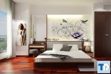 Các mẫu nội thất phòng ngủ đẹp sang trọng với thiết kế hiện đại