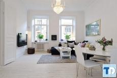 Thiết kế nội thất phong cách hiện đại, tinh tế Scandinavian