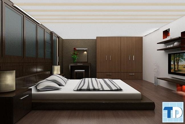 Phòng ngủ ấm cúng, hiện đại