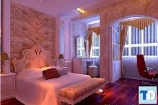 Đẹp dịu dàng cùng bộ phòng ngủ tân cổ điển tinh tế