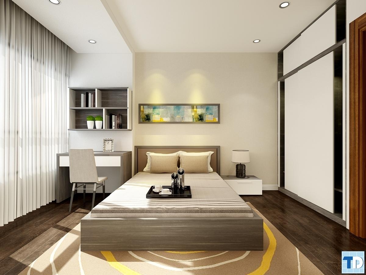 Phòng ngủ với thiết kế lịch lãm