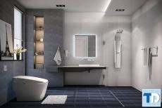 Cách bài trí nội thất phòng tắm giá rẻ ấn tượng đẹp sang trọng
