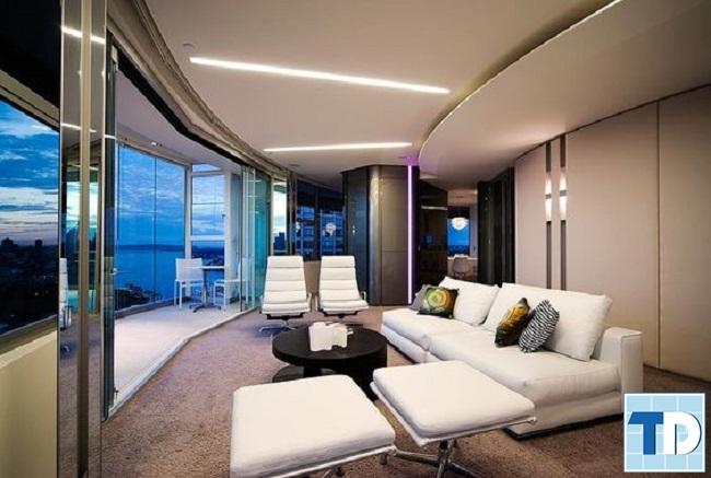 Thiết kế chung cư 70m2 hiện đại