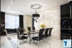 Tư vấn thiết kế nội thất phòng ăn đẹp hiện đại, ấm cúng