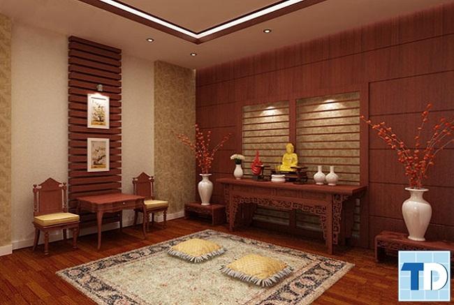 Nội thất chính được sử dụng là gỗ