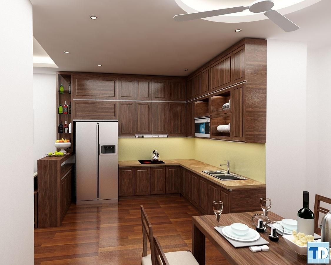 Phòng bếpnhà Chị Liên Liên số nhà 10 Ngõ 138 phố Giáp Bát
