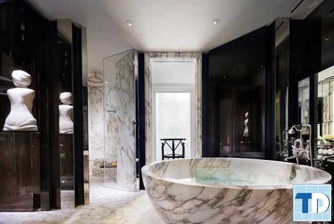 Nhà vệ sinh đẹp hiện đại