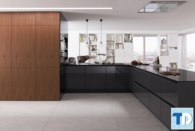 Phòng bếp hiện đại, tiện nghi