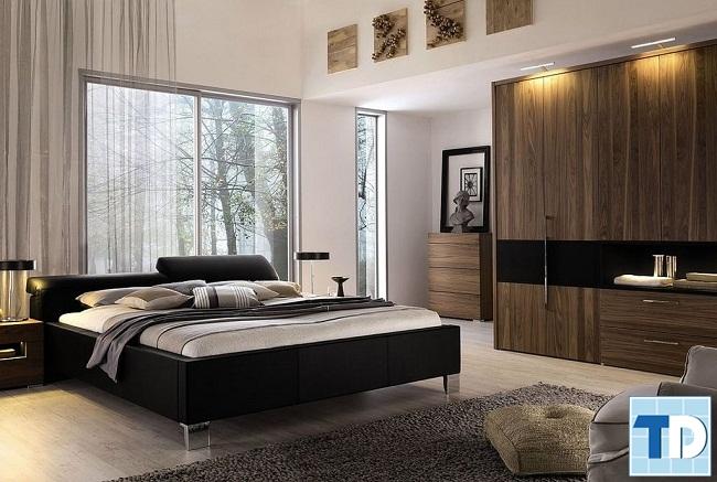 Phòng ngủ master ấm cúng, sang trọng