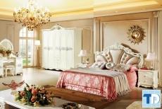 Ngắm nhìn nét quý phái mẫu thiết kế bộ giường ngủ tân cổ điển cao cấp