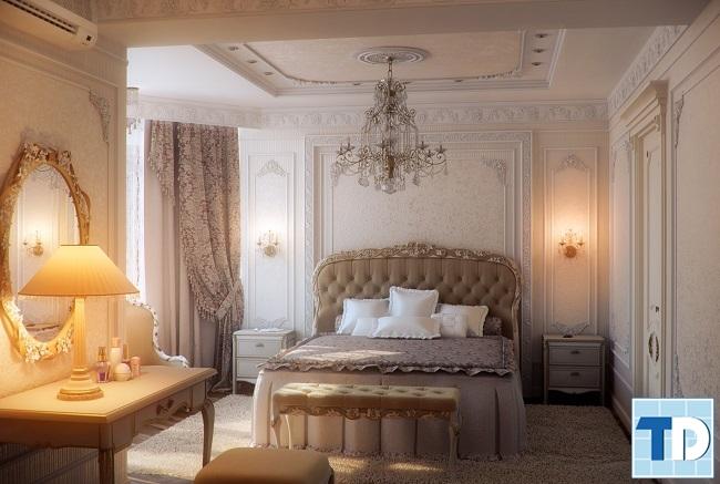 Phòng ngủ nhẹ nhàng, quyến rũ