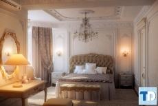 Mẫu giường ngủ tân cổ điển đẹp giá rẻ sang trọng đẳng cấp