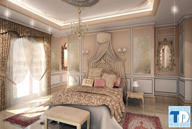 Giường ngủ tân cổ điển thời thượng