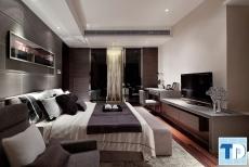 Trang trí nội thất phòng ngủ nhỏ đẹp chung cư cao cấp 16.6m