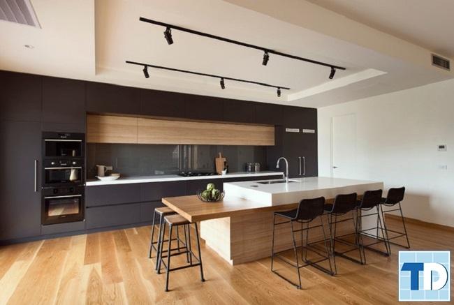 Khu bếp tiện nghi hiện đại