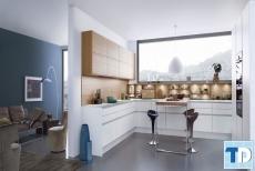 Phong thủy trong mẫu nội thất phòng bếp đẹp chung cư