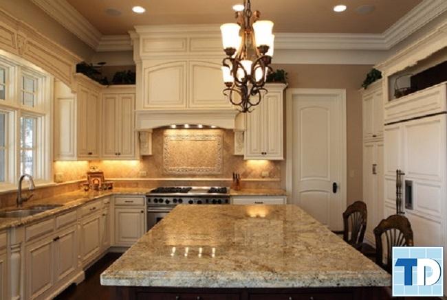 Phòng bếp và bàn ăn tân cổ điển