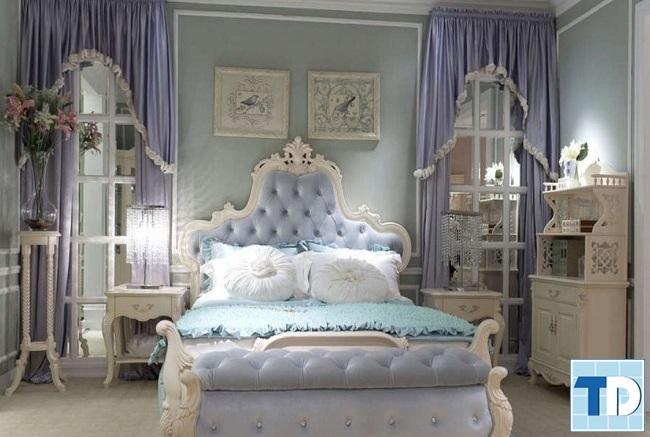 Phòng ngủ con gái nhỏđáng yêu