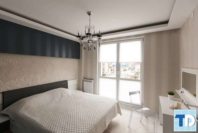 Phòng ngủ con lớn với thiết kế đơn giản