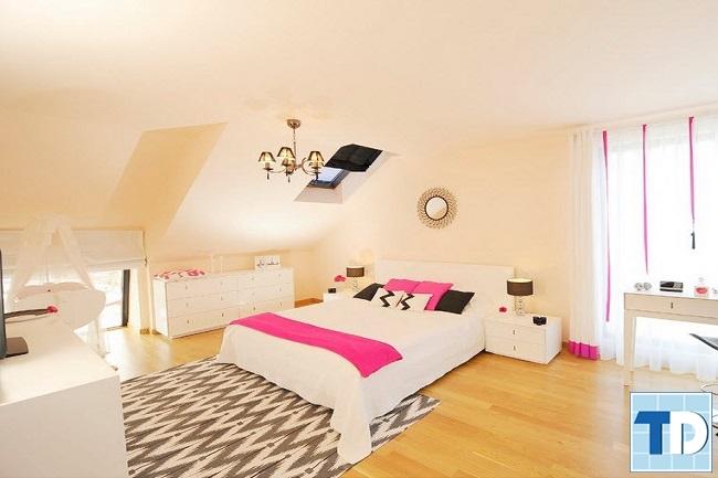 Phòng ngủ con nhỏ xinh xắn đáng yêu