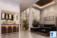 Thiết kế nội thất chung cư cao cấp diện tích rộng