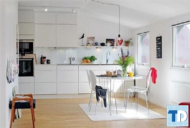 Phòng bếp trang nhã tiện nghi