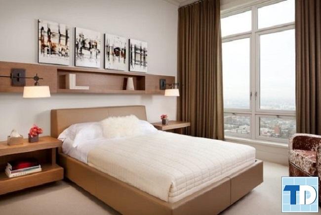 Nội thất phòng ngủ nhỏ đơn giản