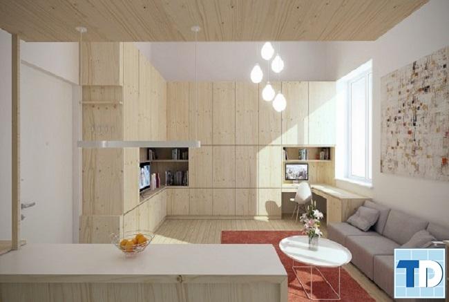 Cách thiết kế nhà nhỏ đơn giản tạo không gian thoáng rộng