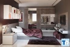 Mẹo nhỏ thiết kế nội thất phòng ngủ nhỏ hiện đại đẹp