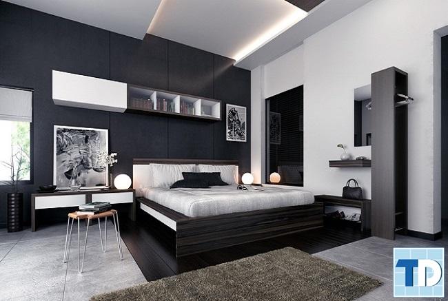 Phòng ngủ lịch lãm, sang trọng