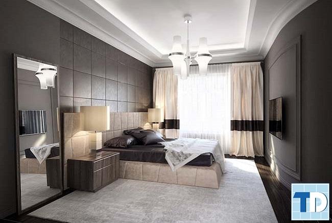 Thiết kế phòng ngủ thông thoáng với cửa sổ lớn