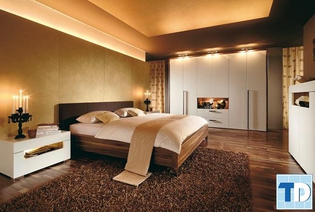 Phòng ngủ master lãng mạn, ấm áp