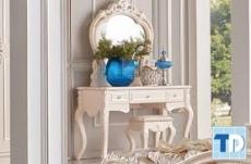 Mẫu bàn trang điểm tân cổ điển tinh tế đẳng cấp quyến rũ cho phái đẹp